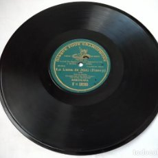 Discos de pizarra: DISCO PARA GRAMÓFONO LA LUNA DE MIEL (ROSEY). POLKA, SOLO DE OCARINA, SR. MOSÉ TAPIERO.. Lote 212692968