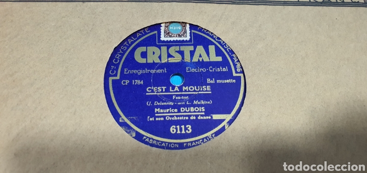 Discos de pizarra: LOTE DE 44 DISCOS DE PIZARRA - MÚSICA EN FRANCES , odeón , Polydor , unix y otros - Foto 7 - 212686417