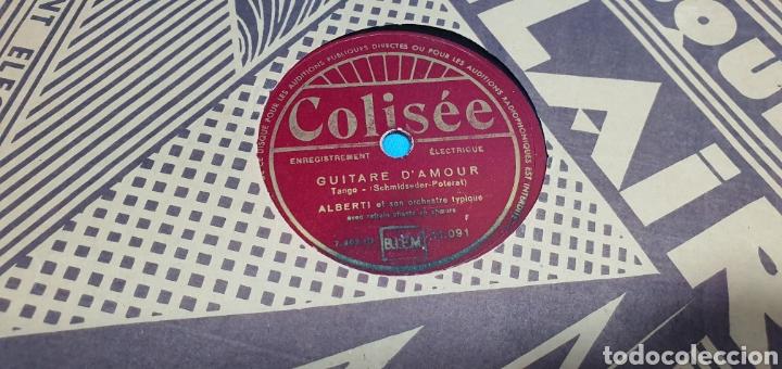 Discos de pizarra: LOTE DE 44 DISCOS DE PIZARRA - MÚSICA EN FRANCES , odeón , Polydor , unix y otros - Foto 8 - 212686417