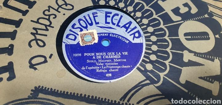 Discos de pizarra: LOTE DE 44 DISCOS DE PIZARRA - MÚSICA EN FRANCES , odeón , Polydor , unix y otros - Foto 11 - 212686417