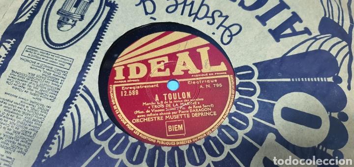 Discos de pizarra: LOTE DE 44 DISCOS DE PIZARRA - MÚSICA EN FRANCES , odeón , Polydor , unix y otros - Foto 13 - 212686417