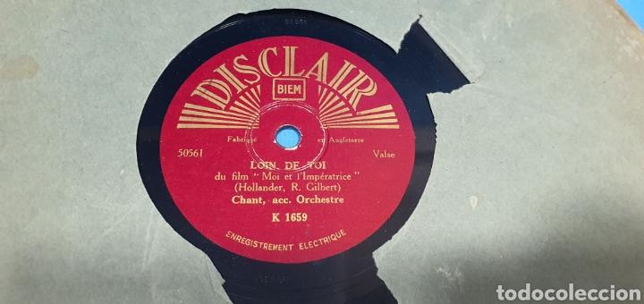 Discos de pizarra: LOTE DE 44 DISCOS DE PIZARRA - MÚSICA EN FRANCES , odeón , Polydor , unix y otros - Foto 14 - 212686417