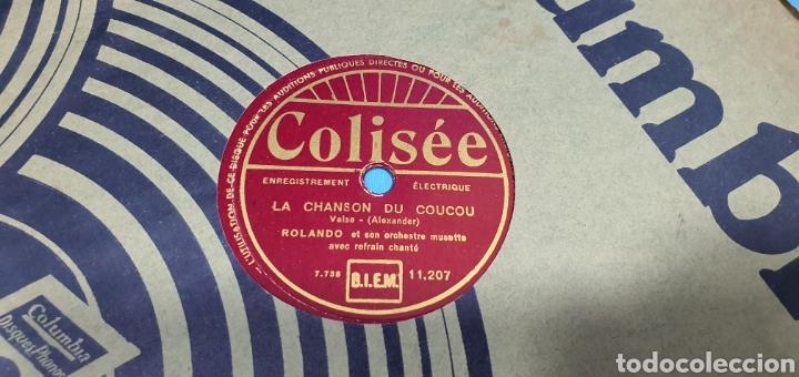 Discos de pizarra: LOTE DE 44 DISCOS DE PIZARRA - MÚSICA EN FRANCES , odeón , Polydor , unix y otros - Foto 15 - 212686417
