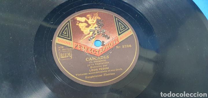 Discos de pizarra: LOTE DE 44 DISCOS DE PIZARRA - MÚSICA EN FRANCES , odeón , Polydor , unix y otros - Foto 16 - 212686417