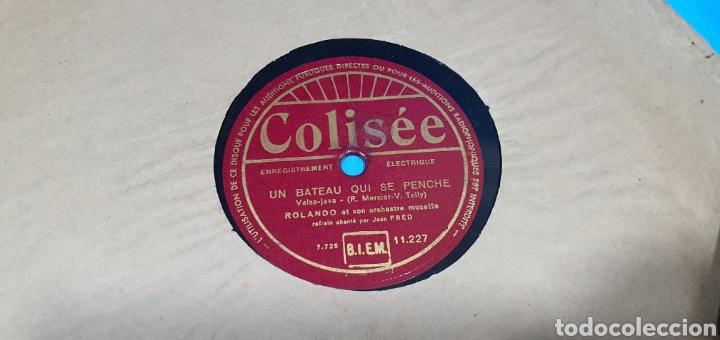 Discos de pizarra: LOTE DE 44 DISCOS DE PIZARRA - MÚSICA EN FRANCES , odeón , Polydor , unix y otros - Foto 18 - 212686417