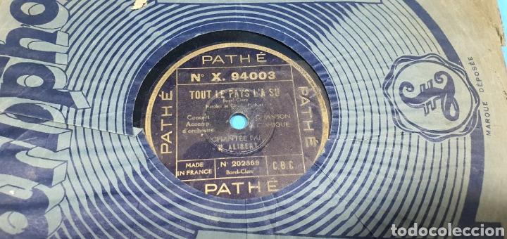 Discos de pizarra: LOTE DE 44 DISCOS DE PIZARRA - MÚSICA EN FRANCES , odeón , Polydor , unix y otros - Foto 20 - 212686417