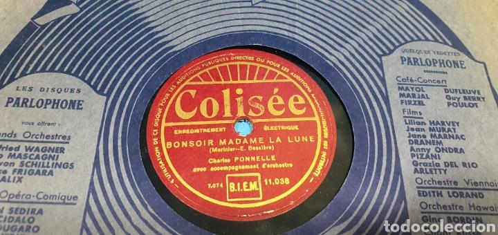 Discos de pizarra: LOTE DE 44 DISCOS DE PIZARRA - MÚSICA EN FRANCES , odeón , Polydor , unix y otros - Foto 21 - 212686417