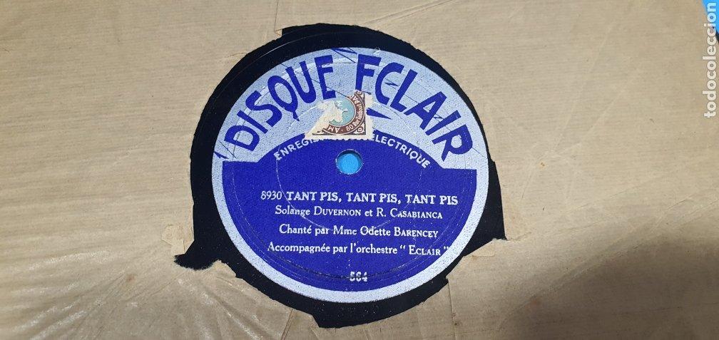 Discos de pizarra: LOTE DE 44 DISCOS DE PIZARRA - MÚSICA EN FRANCES , odeón , Polydor , unix y otros - Foto 22 - 212686417