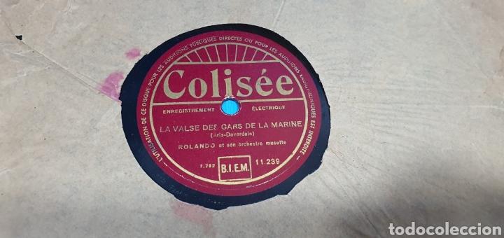 Discos de pizarra: LOTE DE 44 DISCOS DE PIZARRA - MÚSICA EN FRANCES , odeón , Polydor , unix y otros - Foto 23 - 212686417