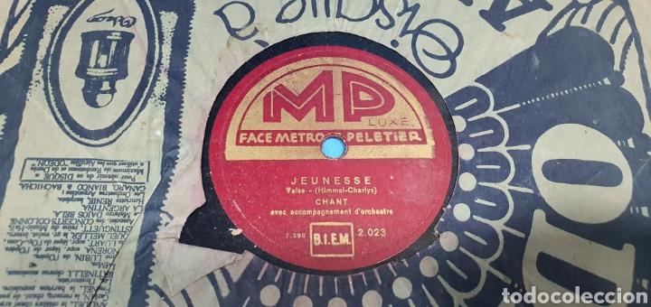 Discos de pizarra: LOTE DE 44 DISCOS DE PIZARRA - MÚSICA EN FRANCES , odeón , Polydor , unix y otros - Foto 25 - 212686417