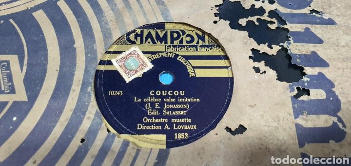Discos de pizarra: LOTE DE 44 DISCOS DE PIZARRA - MÚSICA EN FRANCES , odeón , Polydor , unix y otros - Foto 26 - 212686417