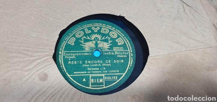 Discos de pizarra: LOTE DE 44 DISCOS DE PIZARRA - MÚSICA EN FRANCES , odeón , Polydor , unix y otros - Foto 28 - 212686417
