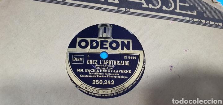 Discos de pizarra: LOTE DE 44 DISCOS DE PIZARRA - MÚSICA EN FRANCES , odeón , Polydor , unix y otros - Foto 30 - 212686417