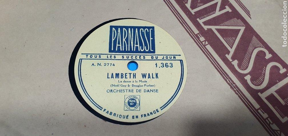 Discos de pizarra: LOTE DE 44 DISCOS DE PIZARRA - MÚSICA EN FRANCES , odeón , Polydor , unix y otros - Foto 32 - 212686417