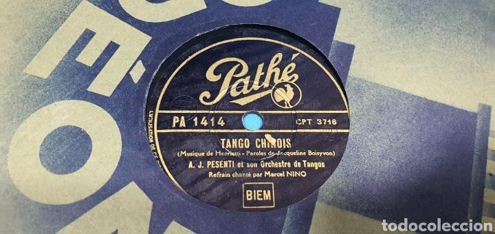 Discos de pizarra: LOTE DE 44 DISCOS DE PIZARRA - MÚSICA EN FRANCES , odeón , Polydor , unix y otros - Foto 34 - 212686417