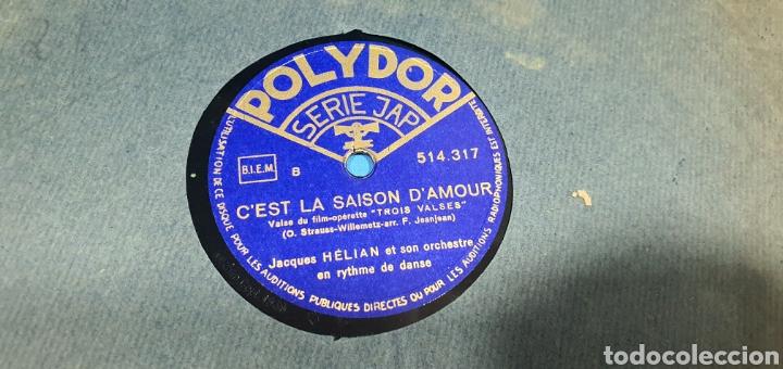 Discos de pizarra: LOTE DE 44 DISCOS DE PIZARRA - MÚSICA EN FRANCES , odeón , Polydor , unix y otros - Foto 36 - 212686417