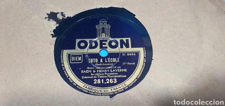 Discos de pizarra: LOTE DE 44 DISCOS DE PIZARRA - MÚSICA EN FRANCES , odeón , Polydor , unix y otros - Foto 39 - 212686417