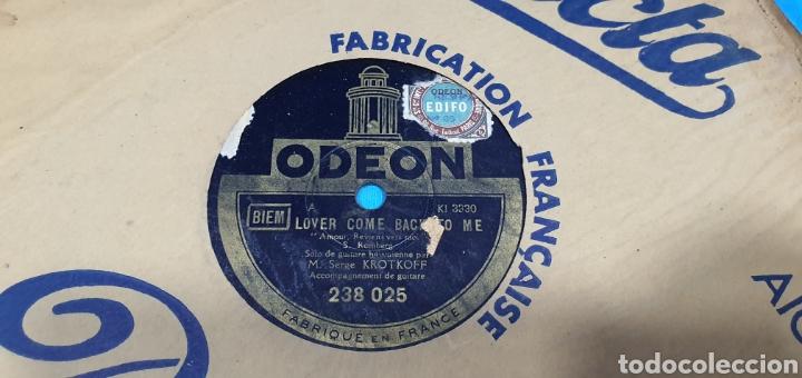 Discos de pizarra: LOTE DE 44 DISCOS DE PIZARRA - MÚSICA EN FRANCES , odeón , Polydor , unix y otros - Foto 40 - 212686417