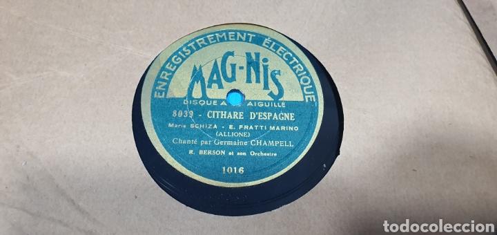 Discos de pizarra: LOTE DE 44 DISCOS DE PIZARRA - MÚSICA EN FRANCES , odeón , Polydor , unix y otros - Foto 42 - 212686417