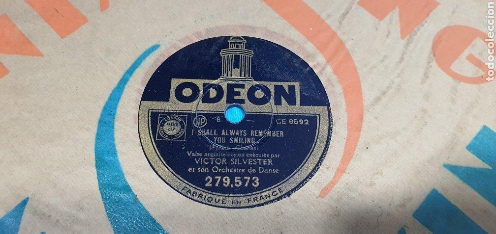 Discos de pizarra: LOTE DE 44 DISCOS DE PIZARRA - MÚSICA EN FRANCES , odeón , Polydor , unix y otros - Foto 43 - 212686417