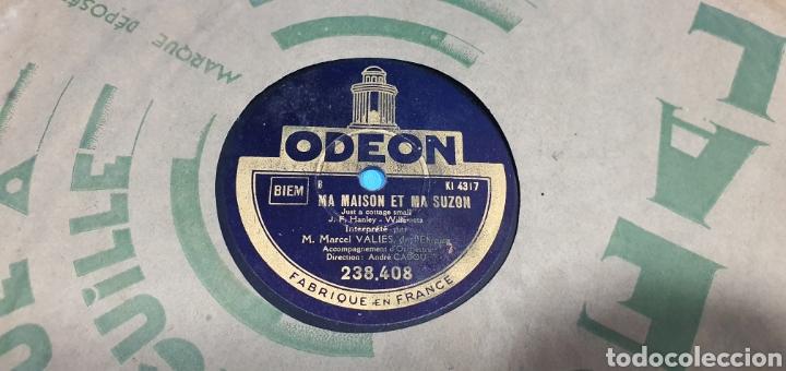 Discos de pizarra: LOTE DE 44 DISCOS DE PIZARRA - MÚSICA EN FRANCES , odeón , Polydor , unix y otros - Foto 44 - 212686417
