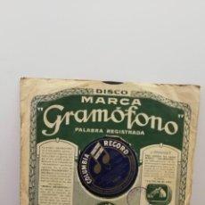 """Disques en gomme-laque: DISCO DE GRAMÓFONO """"ABAJO LAS PALDAS"""" Y """"CARNICERIA MODELO"""". Lote 213118056"""