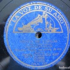 Discos de pizarra: CONCHITA PIQUER / VENTA DE VARGAS / LA VENTERA DE ARACENA (LA VOZ DE SU AMO DA 4287). Lote 213177636