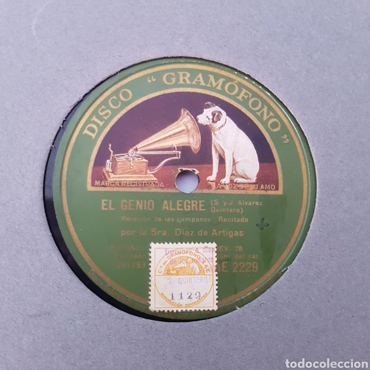 Discos de pizarra: DISCO GRAMOFONO- LA VOZ DE SU AMO-EL GENIO ALEGRE - Foto 2 - 213451315
