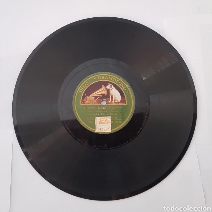 Discos de pizarra: DISCO GRAMOFONO- LA VOZ DE SU AMO-EL GENIO ALEGRE - Foto 6 - 213451315