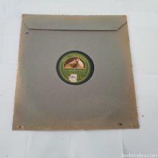 Discos de pizarra: DISCO GRAMOFONO- LA VOZ DE SU AMO-VIDAS CRUZADAS. Lote 213452322