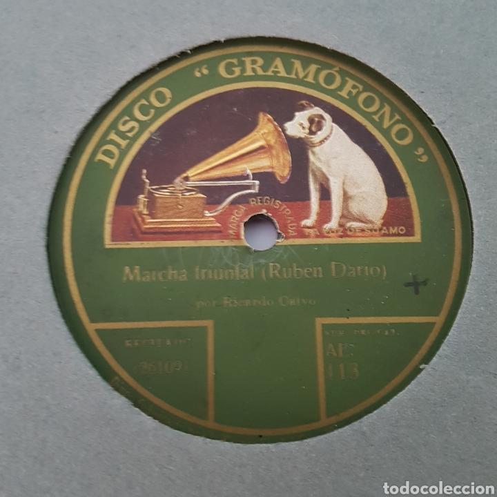 Discos de pizarra: DISCO- LA VOZ DE SU AMO-MARCHA TRIUNFAL - Foto 2 - 213452730