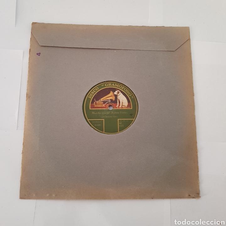 DISCO- LA VOZ DE SU AMO-MARCHA TRIUNFAL (Música - Discos - Pizarra - Otros estilos)