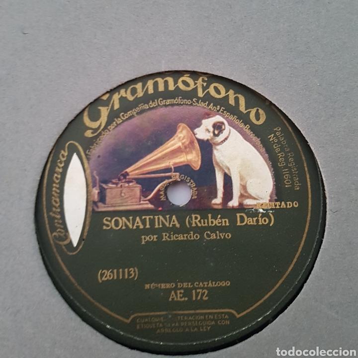 Discos de pizarra: DISCO GRAMOFONO- LA VOZ DE SU AMO- SONATINA - Foto 2 - 213453156