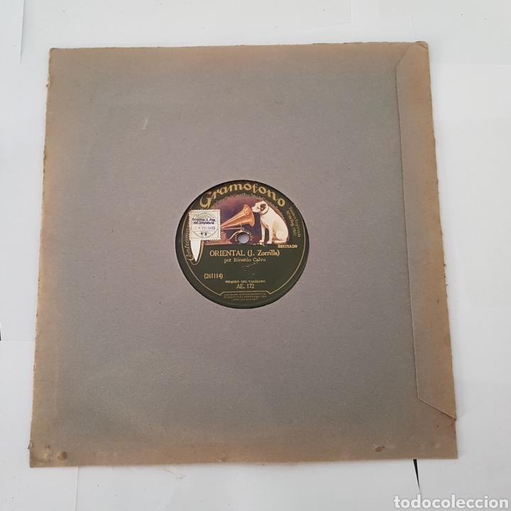 Discos de pizarra: DISCO GRAMOFONO- LA VOZ DE SU AMO- SONATINA - Foto 3 - 213453156