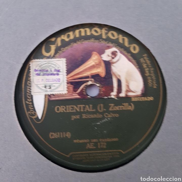 Discos de pizarra: DISCO GRAMOFONO- LA VOZ DE SU AMO- SONATINA - Foto 4 - 213453156
