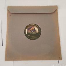 Discos de pizarra: DISCO GRAMOFONO- LA VOZ DE SU AMO- SONATINA. Lote 213453156