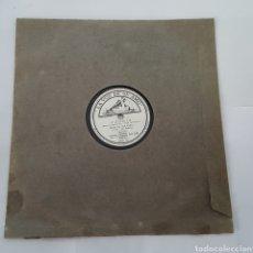 Discos de pizarra: DISCO GRAMOFONO- LA VOZ DE SU AMO- AGONÍA. Lote 213454622
