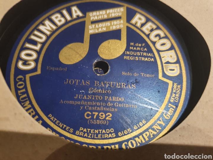 Discos de pizarra: Juanito Pardo Jotas - Foto 2 - 213480031
