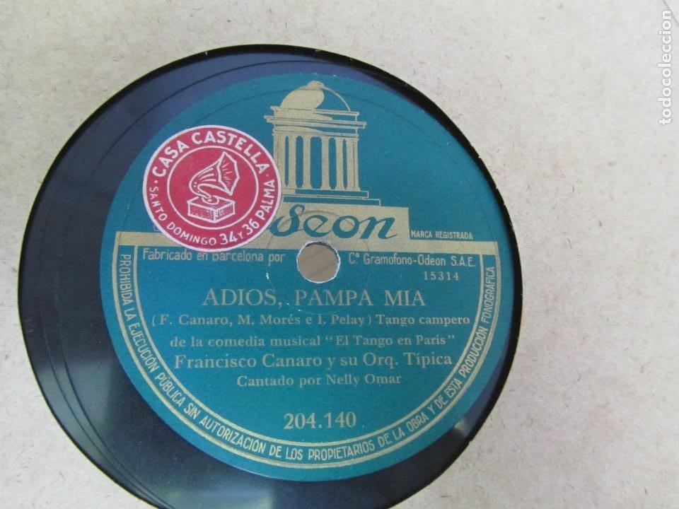 Discos de pizarra: Álbum de discos de pizarra La voz de su amo, 12 discos de 25 cm de diámetro, títulos en fotografías - Foto 5 - 213490297
