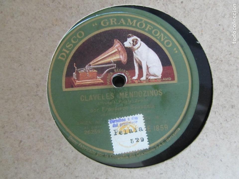 Discos de pizarra: Álbum de discos de pizarra La voz de su amo, 12 discos de 25 cm de diámetro, títulos en fotografías - Foto 8 - 213490297