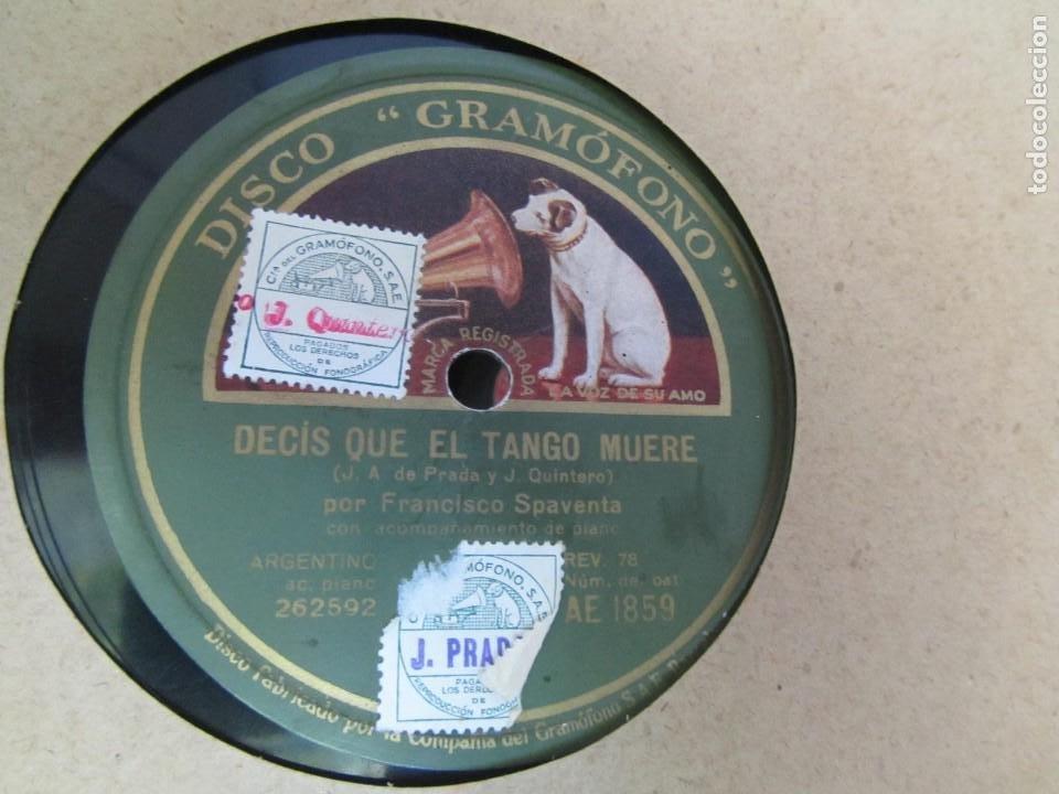 Discos de pizarra: Álbum de discos de pizarra La voz de su amo, 12 discos de 25 cm de diámetro, títulos en fotografías - Foto 9 - 213490297