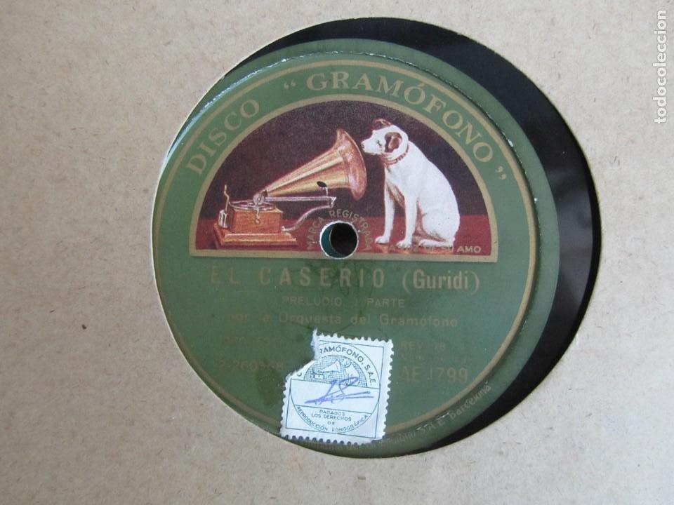 Discos de pizarra: Álbum de discos de pizarra La voz de su amo, 12 discos de 25 cm de diámetro, títulos en fotografías - Foto 10 - 213490297