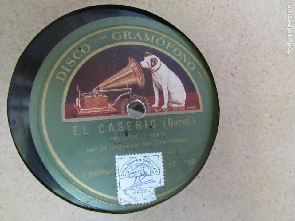 Discos de pizarra: Álbum de discos de pizarra La voz de su amo, 12 discos de 25 cm de diámetro, títulos en fotografías - Foto 11 - 213490297