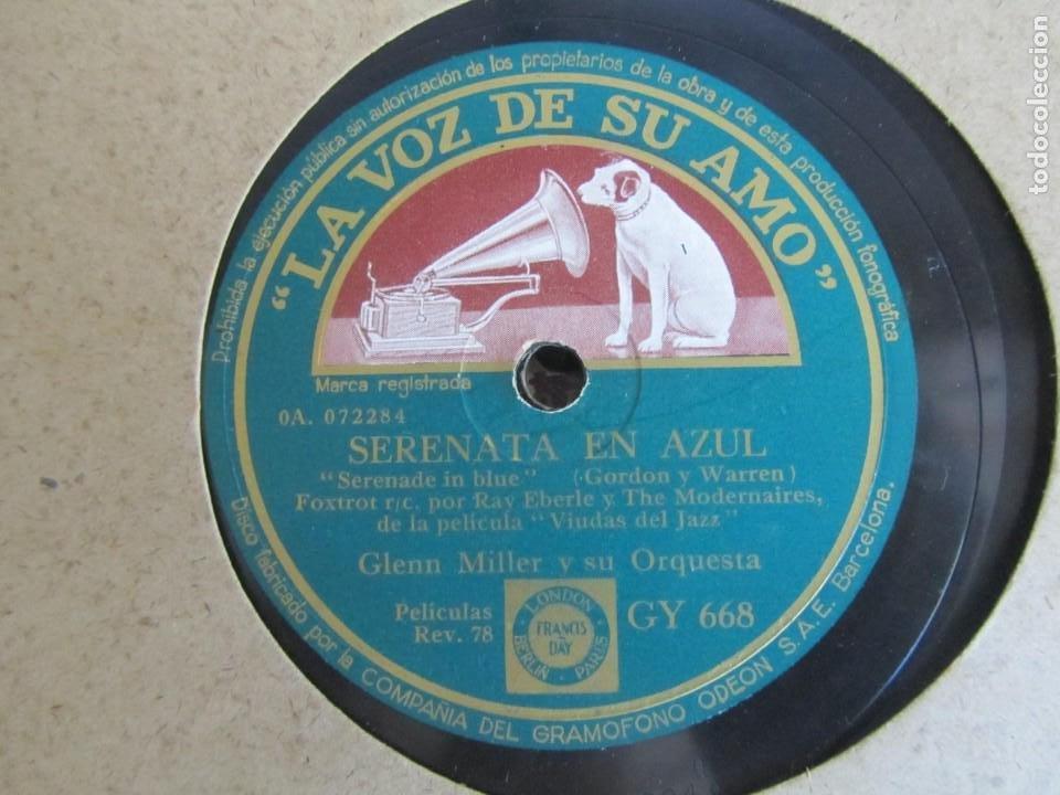 Discos de pizarra: Álbum de discos de pizarra La voz de su amo, 12 discos de 25 cm de diámetro, títulos en fotografías - Foto 14 - 213490297