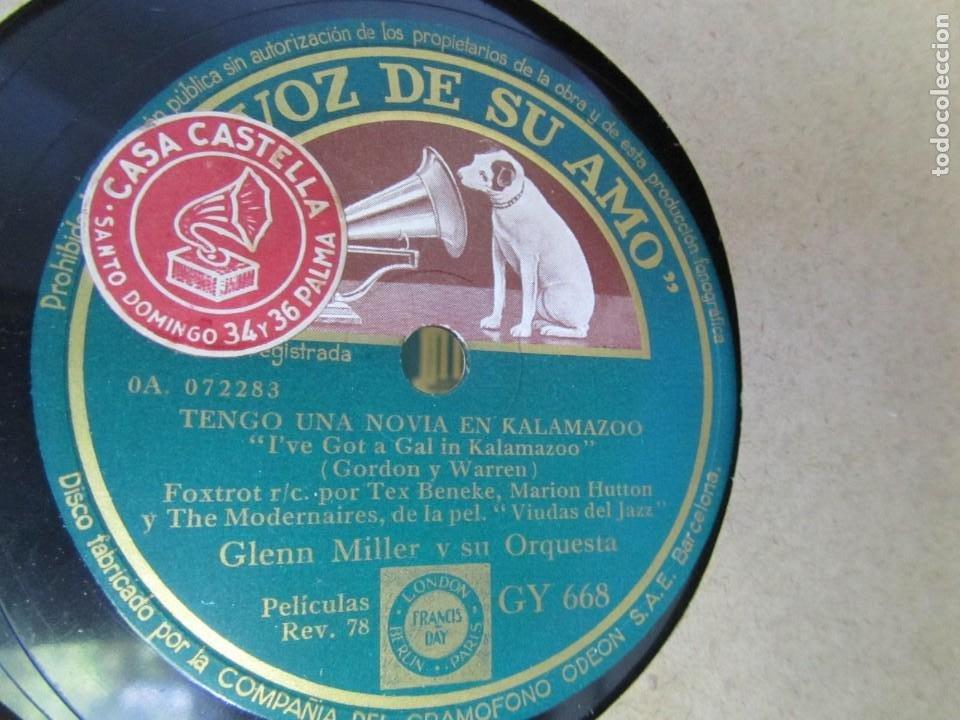 Discos de pizarra: Álbum de discos de pizarra La voz de su amo, 12 discos de 25 cm de diámetro, títulos en fotografías - Foto 15 - 213490297