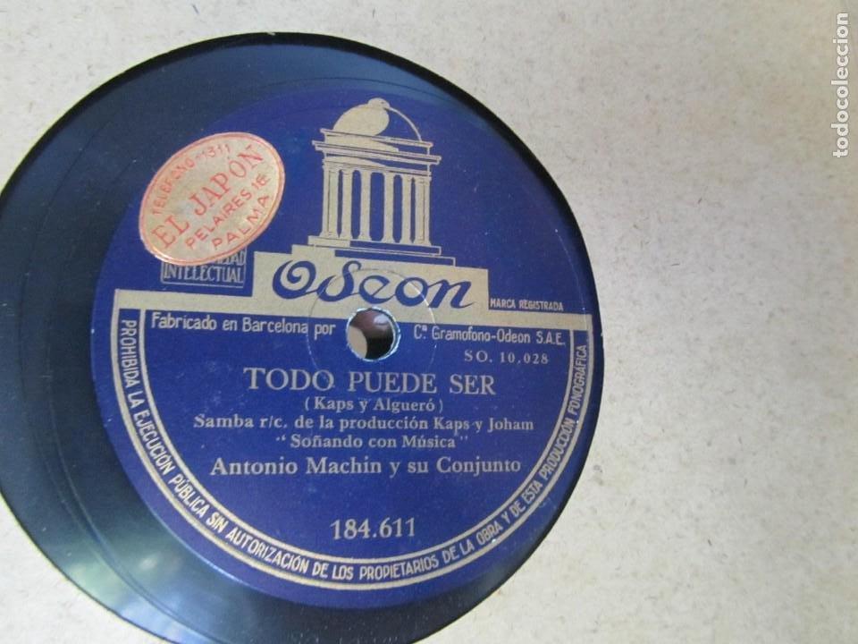Discos de pizarra: Álbum de discos de pizarra La voz de su amo, 12 discos de 25 cm de diámetro, títulos en fotografías - Foto 17 - 213490297