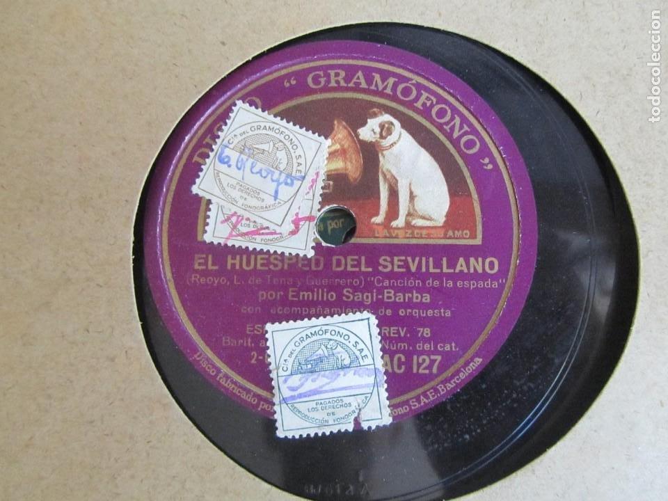 Discos de pizarra: Álbum de discos de pizarra La voz de su amo, 12 discos de 25 cm de diámetro, títulos en fotografías - Foto 18 - 213490297