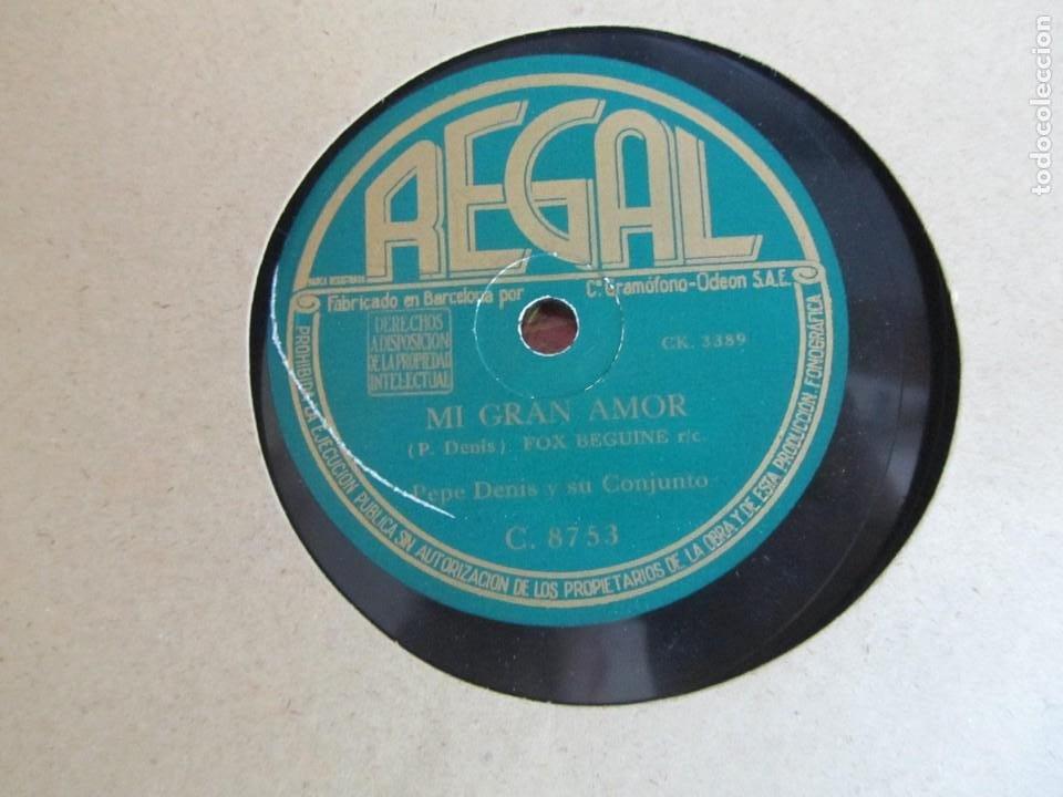 Discos de pizarra: Álbum de discos de pizarra La voz de su amo, 12 discos de 25 cm de diámetro, títulos en fotografías - Foto 20 - 213490297
