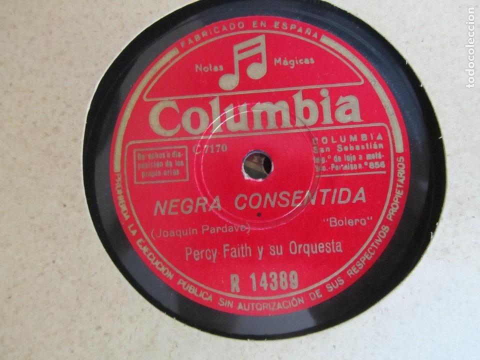 Discos de pizarra: Álbum de discos de pizarra La voz de su amo, 12 discos de 25 cm de diámetro, títulos en fotografías - Foto 22 - 213490297