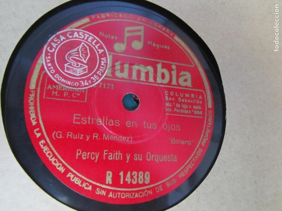 Discos de pizarra: Álbum de discos de pizarra La voz de su amo, 12 discos de 25 cm de diámetro, títulos en fotografías - Foto 23 - 213490297